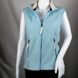 Patagonia Synchilla Baby Blue Fleece Vest Size M